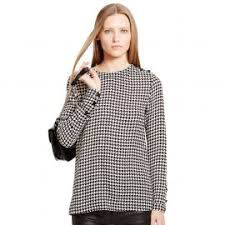houndstooth blouse wornontv s houndstooth blouse on kerry