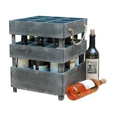 Antique Spice Rack Antique Style Stackable Wooden Wine Crates Free Shipping Today