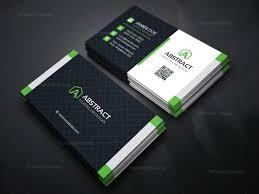 stylish business card design template 000158 template catalog