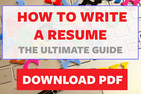 How To Use On Error Resume Next How To Write A Resume The Ultimate Guide
