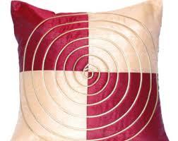maroon pillow etsy