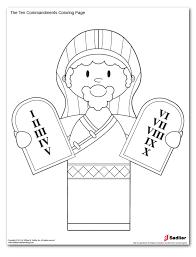unique ten commandments coloring pages 13 on picture coloring page