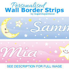 Wwe Wallpaper Border For Boys Bedroom Cute Moon And Stars Bedroom Wall Border Superduperdecor