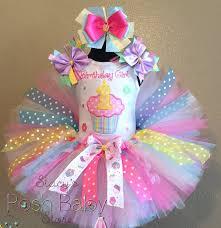 1st birthday tutu pastel pink polka dot cupcake 1st birthday tutu
