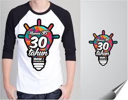 desain kaos sekolah galeri desain kaos untuk reuni 30 tahun sma negeri 1 karan