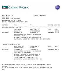 Cathay Pacific Route Map by Guide To Making Asia Miles Redemptions Stopovers Holds U0026 Online