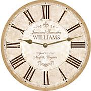 personalized clocks with pictures personalized clock personalized wall clock