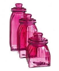 pink kitchen canisters glass kitchen canister sets thing