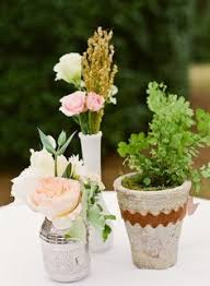 Potted Plants Wedding Centerpieces by Wedwed Potted Plant Centerpieces Potted Plant Centerpieces