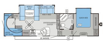 Yurt Interior Floor Plans by Fifth Wheel Floor Plans Bunkhouse Casagrandenadela Com