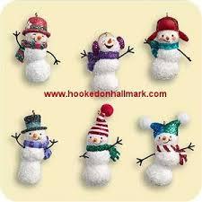 2006 hallmark jolly snowmen hallmark miniature ornaments