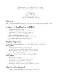 resume exles for bartender waitress resume exle resume waitress waitress resume exle