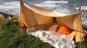 diy summer beach den tent youtube