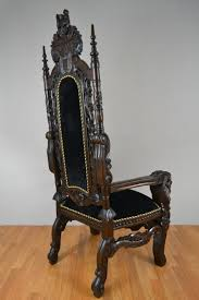 Solid Teak Wood Furniture King Throne Chair Hand Made Solid Teak Wood Ornate Carving Wedding