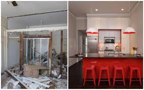 kitchen renovation before and after u2014 the clayton design small