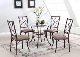 glass metal dining table u2013 wallmounted co