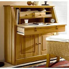 image de secretaire au bureau bureau secrétaire en pin massif home affaire pin home affaire