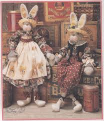 mccalls crafts 8035 bunny clothes sewing pattern home decor