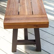 amazon com bowman wood picnic table style outdoor dining set