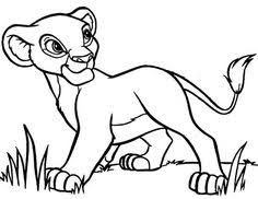 nala coloring pages mufasa nala and simba in front of the cave the lion king coloring