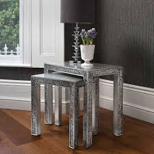 Black Glitter Laminate Flooring Living Room Luxury Living Room Side Table With Silver Glitter