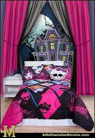 monster high home decor decorating theme bedrooms maries manor monster high kids room