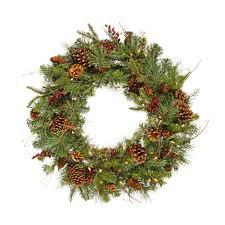 rocky mountain wreath prelit 36