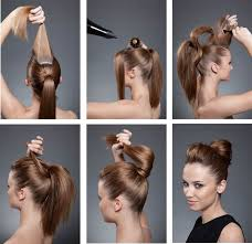 hairstyles with a hair donut how to make perfect donut bun beauty zone