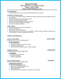 bartender resume template server bartender resume skills objective description banquet