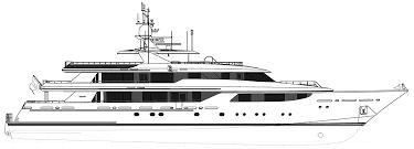 yacht event layout layout general arrangement plans westport 164 m y 50m