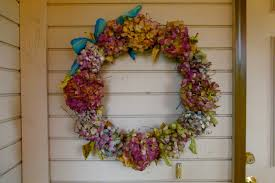 diy hydrangea wreath nice home decor with charm hydrangea wreath