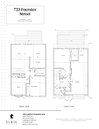 san francisco floor plans 723 foerster street the lurie group top san francisco real
