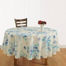 round table cloth covers table cloth blue floral round table covers swayam 1342 online
