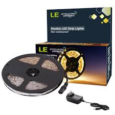 warm 12 led strip light kit 3528 led light tape kit