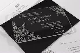 wedding invitations durban acrylic wedding invitations junk mail