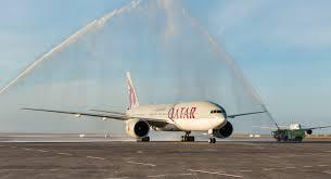 Qatar Airways Route Map by