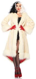 womens costume ideas cruella coat villain costume mr costumes