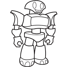 robot coloring pages getcoloringpages regard robot