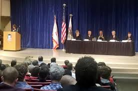 democratic candidates for governor gang up on rauner at a forum at