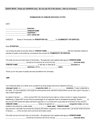Notice For Rental Termination by 18 Termination Letters No Free Word Pdf Excel Format