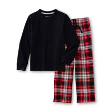 joe boxer boy s pajama shirt plaid