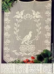 Crochet Lace Curtain Pattern 240 Best Crochet Curtian U0027s Images On Pinterest Crochet Curtains