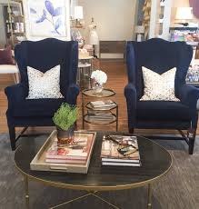Wing Chair Wonderland Pick New Navy Wing Chair Alice Lane
