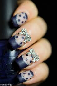32 lovely bow nail designs nail design ideaz