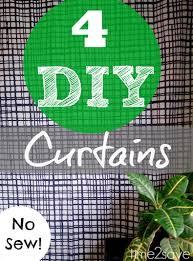 diy to save money on curtains 4 easy ideas kasey trenum