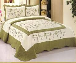 Queen Quilted Coverlet Quilt Comforter Sets King Quilt Comforters Bedspreads White