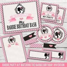 Best 25 Barbie Birthday Party by Best 25 Vintage Barbie Party Ideas On Pinterest Barbie Birthday