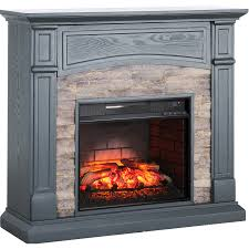 southern enterprises seneca electric media fireplace sylane