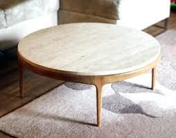 white stone coffee table round stone top coffee table landlinkmontana org