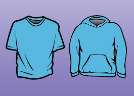 t shirt sweatshirt template vector free download